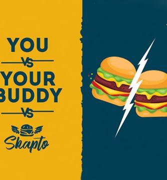 илюстрация два скапто бургера