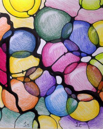 Цветна-рисунка-кръгове