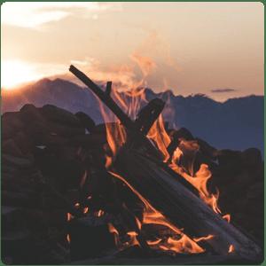 Запален-огън-в-гората