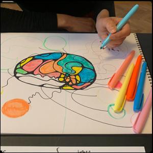 Втори етап на рисуване на неорографика