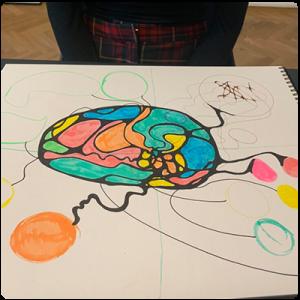 Готова рисунка на неорографика