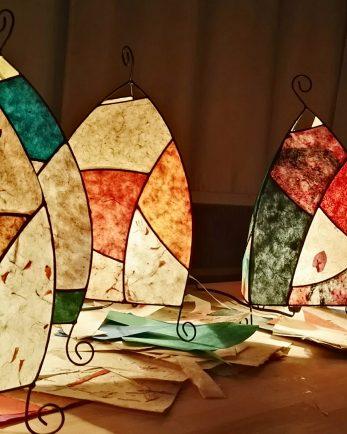 индивидуално ателие за изработка на лампа