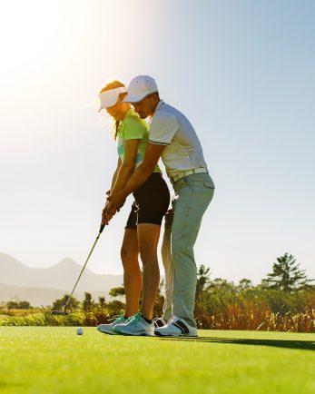 голф урок за двама
