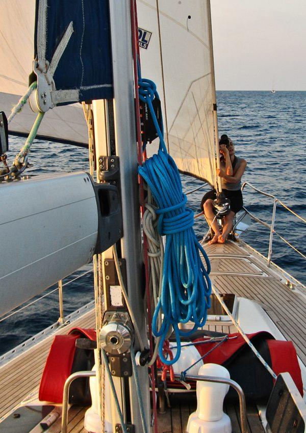 Вълнуващо плаване в северно Егейско море