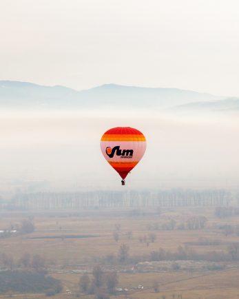 групов полет с балон