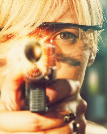 стрелба за двама