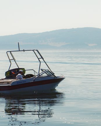 лодка язовир искър